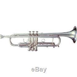 Getzen Eterna 900s Classique Bb Trompette, Vernis Plus Plaqué Argent