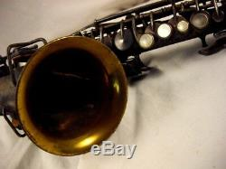 H. N. Blanc King Argent Professionnel Bb Courbe Saxophone Soprano