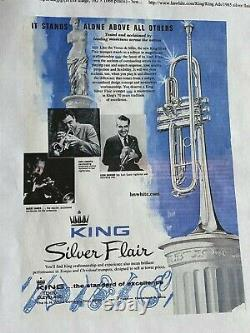 H. N. White King Silver Flair Trompette -the Real Deal