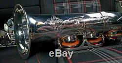 Henri Selmer Paris Mark VI Saxophone Pro Légendaire En Rare Plaque D'argent Mk6