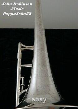Hn White King Conservatoire Modèle Trombone De L'orchestre 1924 Tis Fully Restored