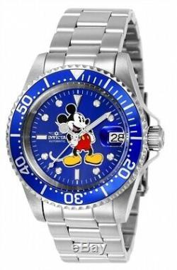 Invicta 24608 Pro Diver Disney Mickey Mouse Ltd. Edition 24 Jewel Automatique