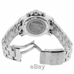 Invicta Diver Montre Pro Hommes Noir Et Scuba Tone Cadran Argenté Bracelet 21920