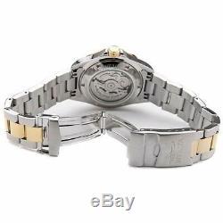 Invicta Montre Homme Pro Diver Automatique Cadran Bleu Deux Tons Bracelet En Acier 17042