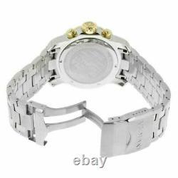 Invicta Montres Homme Pro Diver Scuba Chronographe Silver Tone Cadran Bracelet 80040