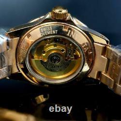 Invicta Pro Diver Gibeon Meteorite Swiss Automatic Rose Gold Plaqué 40mm #3 Nouveau