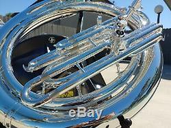 John Packer 2057 Argent Plaqué Bb Sousaphone Professional