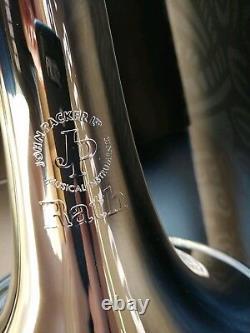 John Packer 231rath Silver Plaqué Bb Trombone- Professionnel
