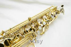 Jupiter Jas-869 Silver Plaqué Two Tone Professional Alto Saxophone, Great Cond