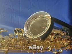 Jupiter Saxophone Jas-689 Modèle Professionnel, Body Argent Clés D'or