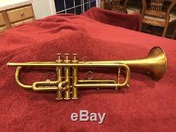 Kanstul 1600 Trompette, Wayne Bergeron Modèle, Bb, Laiton Jaune, Embouchure, Case