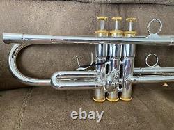Kanstul Callet Stratosphere Gen II Bb Trumpet. 464 Bore 4 7/8 Bell. 348 Venturi