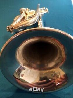 Kanstul Trompette Professionnelle En Sib, Modèle Chicago 1000