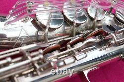Keilwerth 1961 Tone King Alto Sax, Silver, Avec F#, #42k