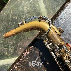 Keilwerth Toneking Martelle Alto Sax Saxophone Vintage Aile D'ange Allemande Joueur