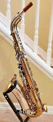 King Super 20 Silversonic Super 20 Alto Saxophone Repad Frais