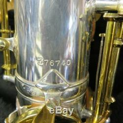 King Zephyr Saxophone Alto Argenté