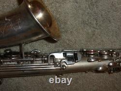 Late/transitional Buescher True Tone Alto Sax/saxophone, 1931, Plays Great