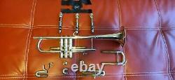 Le Modèle De Trompette De Bach 37, Utilisé, Inclut Le Cas, Sourdines, Et Plus Beaucoup