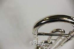 Le Trombone Du Roi F Argent Plaqué De Fixation