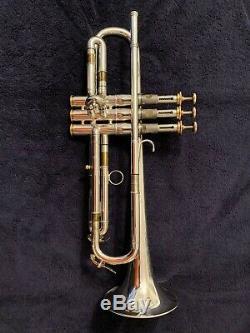 Marcinkiewicz Modèle Trompette Rare Coppola Excellent Condition Silver Plate