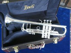 Mint Demo Bach Stradivarius 180s-37 Trumpet Avec Garantie Complète