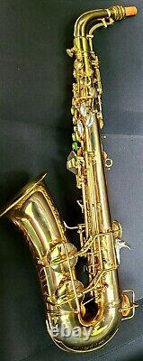 Minty Conn 26m Connqueror! Deluxe / Amélioré 6m VIII Femme Nue Pro Saxophone Alto