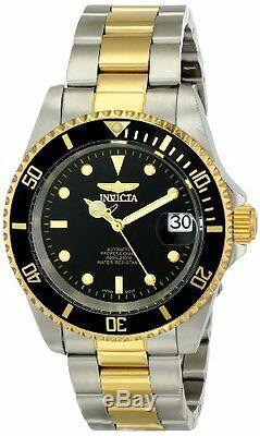 Montre En Acier Inoxydable Bicolore Pro Diver Automatic 200m D'invicta Pour Hommes 8927ob