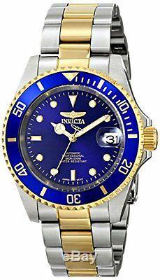 Montre En Acier Inoxydable Bicolore Pro Diver Automatic 200m D'invicta Pour Hommes, 8928ob