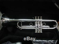 New Carolbrass Ctr-5000l-yss-s Bb Trompette, Argent, Meilleur Modèle D'importation