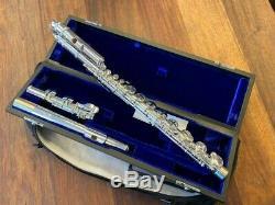 New Haynes Amadeus Alto Flûte Traversière Af570cs Droite Et Courbe Tête Joints