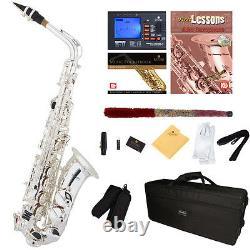 Nouveau Argent Plaqué Saxophone Alto-pro Concert Band Sax