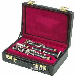 Nouveau Buffet Crampon R13 Clarinette Professionnelle Argent Plaqué Keys Brassbarn