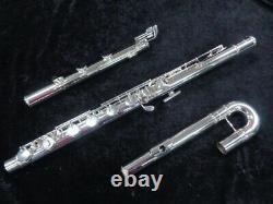 Nouveau Pearl Bass Flute Model 305be Prêt À Expédier