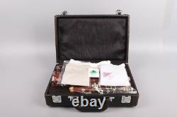 Nouveau Professionnel Clarinet Rosewood Wood Body Nickel Plaqued Key B-plat 17 Clé Bb