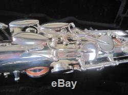 Nouveau Yanagisawa Saxophone Alto Plaqué Argent Copie Faite Par Dillon Factory N. J. List $ 2998