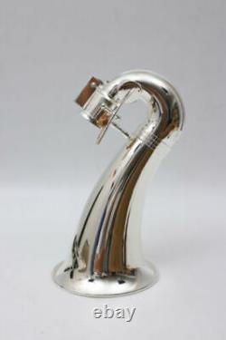 Nouveau (faible C) Kit De Clarinette Basse Hard Bakelite Clés Plaquées Argent, Son Puissant
