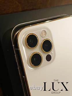 Nouvel Iphone Apple Personnalisé 12 Pro 512go 24k Gold Plaqué (déverrouillé) Gsm Cdma