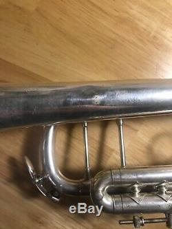 Occasion Bach Stradivarius Trompette D'argent Modèle 37