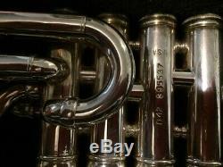 Piccolo Trompette Benge USA Bb -resno Tempéré Bell- Silver 4 Clapet Anti Réserve