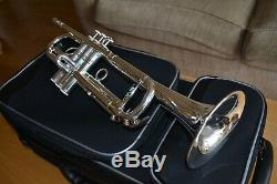 Pristine Carol Brass Professionnel Léger Trompette Ctr-5000l-ylt-s
