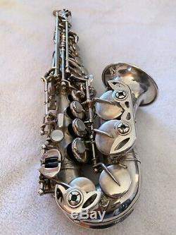 Rampone & Cazzani Curved Soprano Sax R1 Argent Jazz
