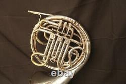 Rare 1934 King H. N White Français Horn Schmidt Pelletier Model Piston Thumb