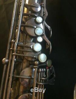 Rare 1954 Selmer Mark VI Argent Tenor Sax Sn 56xxx 1 Du 1er 1500 Mark VI Jamais