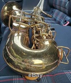 Rare Conn 30m Connqueror (deluxe Et Amélioré 10m) Saxophone Ténor Naked Lady Pro