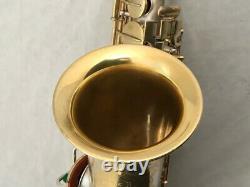 Rare Conn New Wonder Saxophone Alto Or & Argent Plaqué, Remanié! Voir La Video