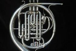 Rare Exceptionnel Couesnon Monopole Conservatoire Double Corne Française Des Années 1950