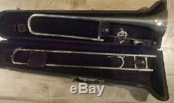 Rare Vintage F. E. Olds Trombone, Numéro De Série 1970 L'un De Ses Premiers Ceux, Très Agréable