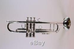Roi Modèle 2055s'silver Flair Professionnel Bb Trompette Impeccable