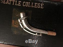 Roi Zephyr 1940 Satin Silver USA Gravé Saxophone Alto